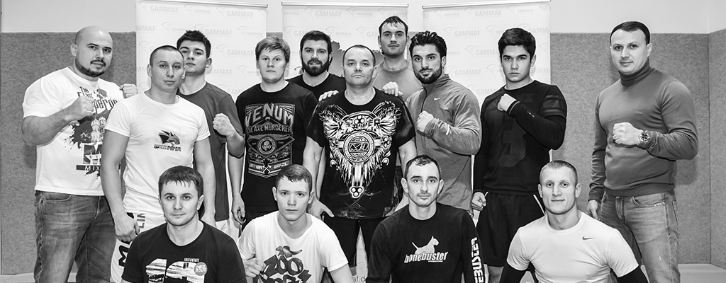 Meisterklasse vom Nationalteam Trainer MMA Kasachstan