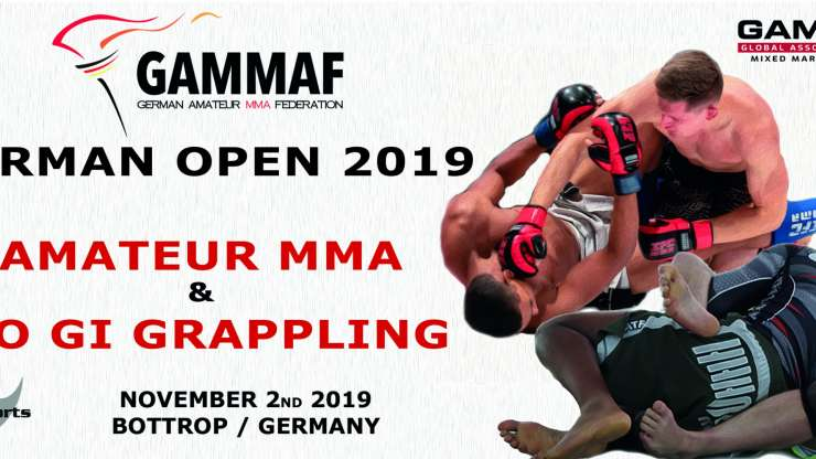 German Open Amateur MMA & No Gi Grappling Nov 2nd 2019
